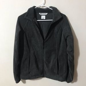 Dark grey medium women's Columbia jacket